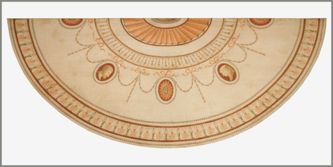 George III demi lune table top_adam