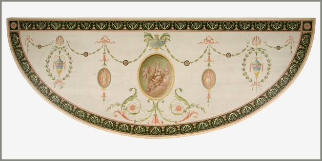 George III demi lune table top 1 wpl