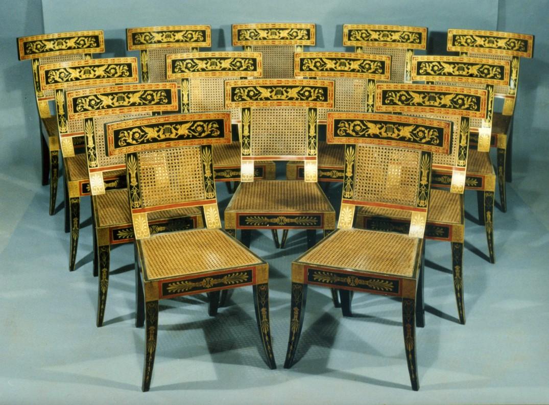 14 Philadelphia Classical Chairs WPL