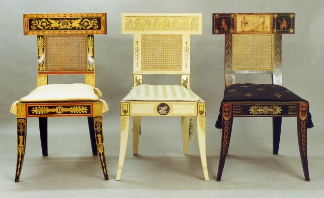 3 Philadelphia Classical Chairs WPL