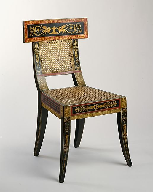 Philadelphia Empire Chair MET WPL