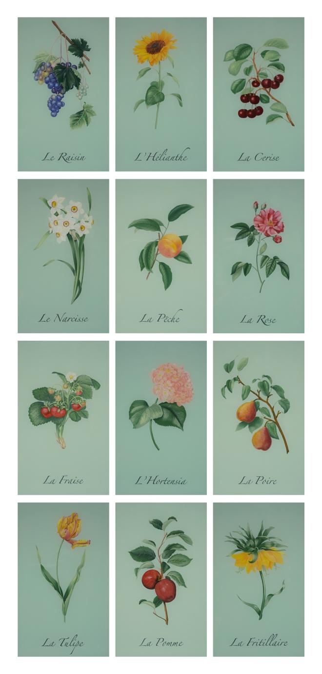 Eglomise Botanicals 1 wpl