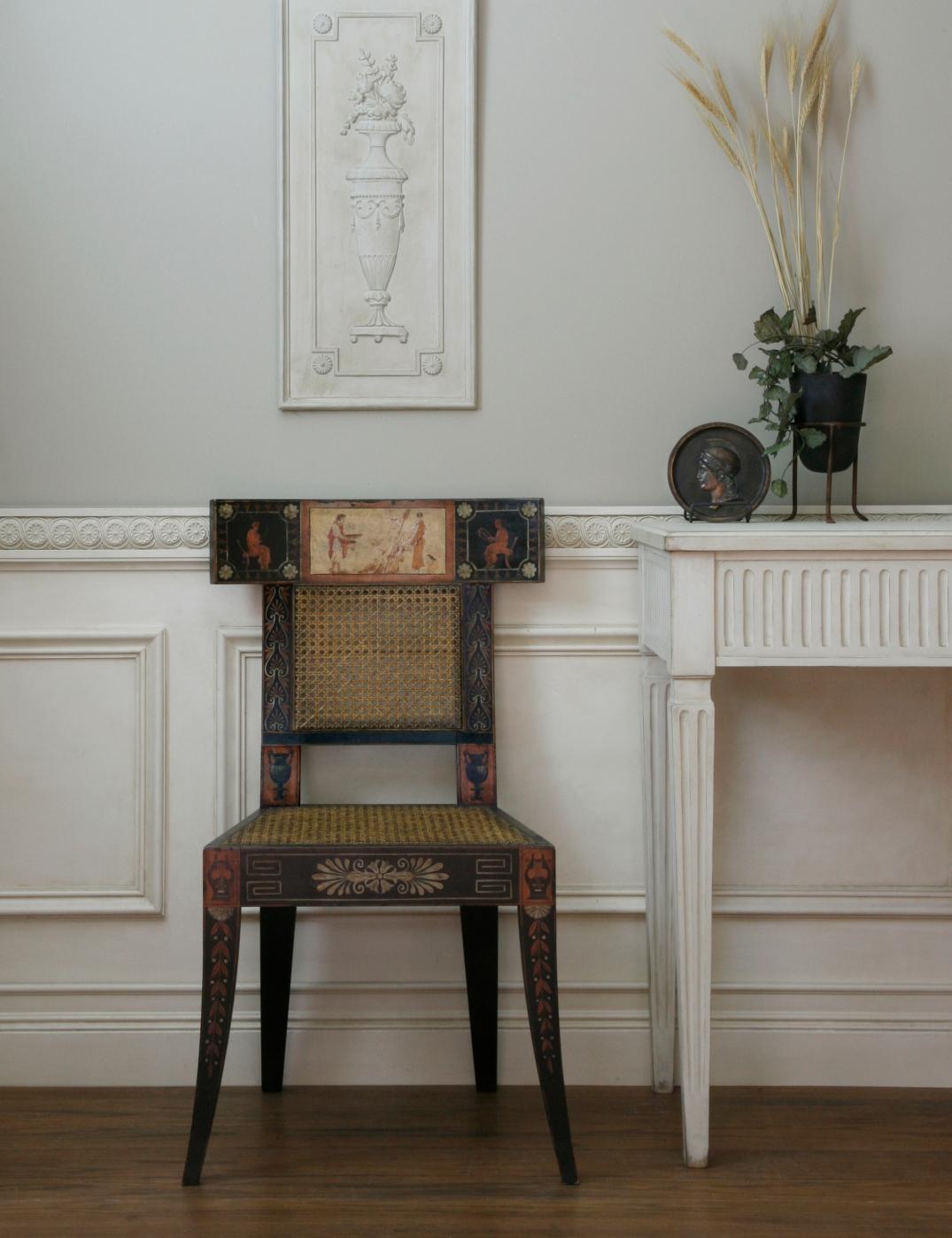 Klismos chair 4983